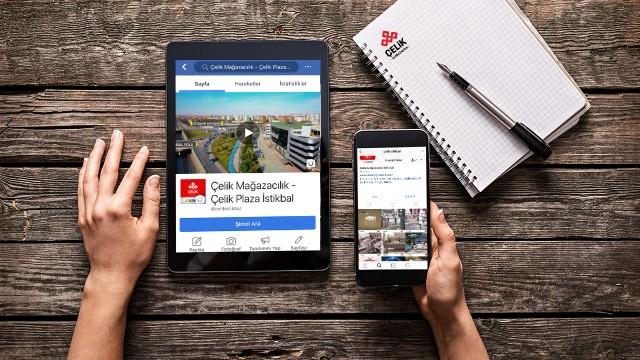 """Konya'da toplamda 20.000 m2'ye ulaşan 2 mağazası ile """"Çelikler Mağazacılık"""" Sosyal Medya Hesap Yönetimi"""