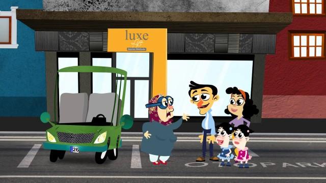 """Luxe Life / Şaşırtan Mobilyalar için hazırladığımız """"Çizgi Film"""""""