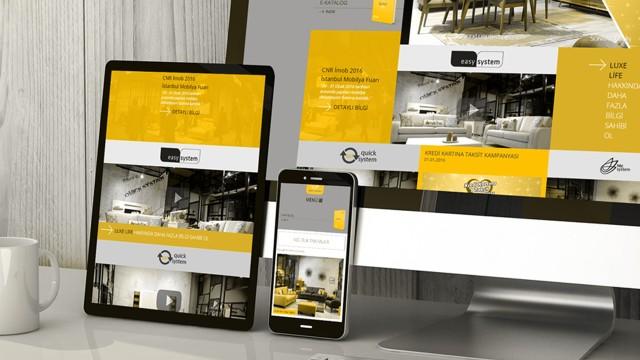 """Güçlü yazılım alt yapısı ve özgün tasarımı ile Luxe Life """"İnternet Sayfa Tasarımı"""""""