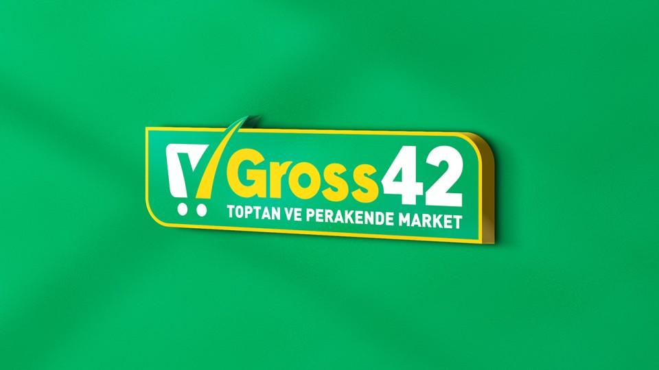 """Gross42 Marketleri  """"Logo ve Kurumsal Kimlik Tasarımı"""""""
