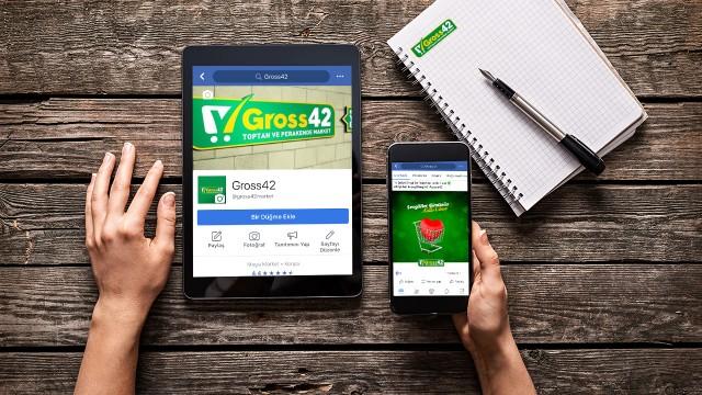 """Gross42 Marketleri """"Sosyal Medya Yönetimi"""""""