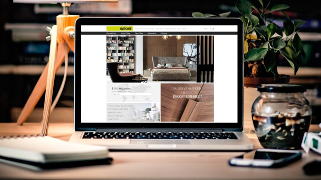 """Yazılım teknoloji güçlü bir alt yapı """"Saloni"""" İnternet Sayfa Tasarımı ve Yazılımı"""